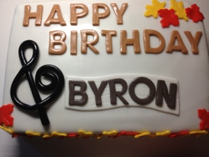 Fall Birthday Surprise Happy Birthday Byron Cakes By