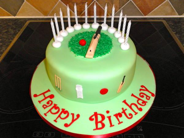 SAM0226 Cricket Cake Cakes By Jo