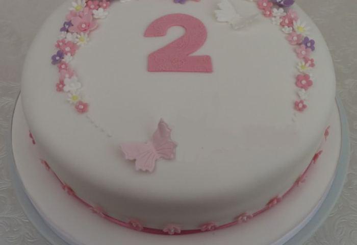 Girls Birthday Cakes Cakesbykit