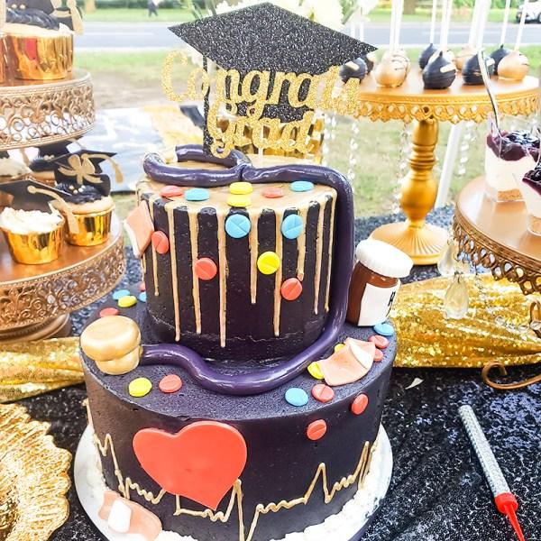 Cakes By Violet Sprinkle-tastic! Dessert Table
