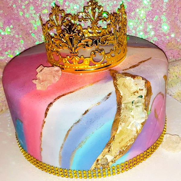 Cakes By Violet Geode Cake (main)