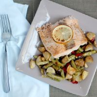 Broiled Salmon {THM-S}