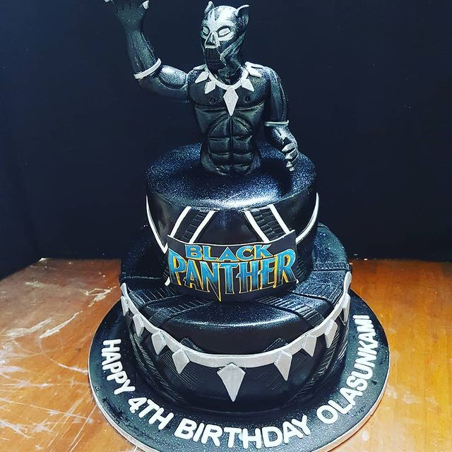 Bdc064n Black Panther Cake Cakes For Africa