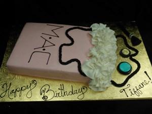 MAC bag cake