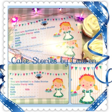 Cake Stories Invite