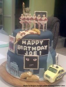"""birthday cake"" ""broadway cake"" ""rockettes cake"" ""pizza cake"" ""taxi cake"""