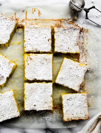 lemon rosemary bars