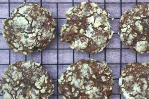 Chocolate Banana Cookies b