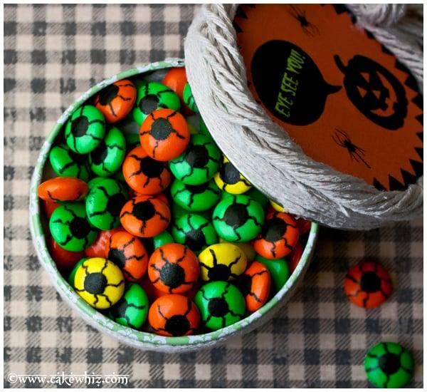 spooky eyeball candies 1