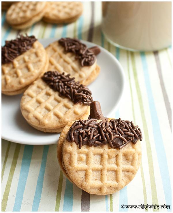 how to make acorn cookies 3