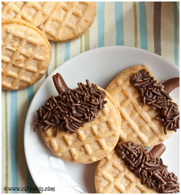 how to make acorn cookies 1