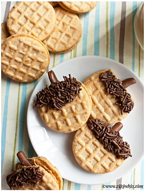 how to make acorn cookies 4