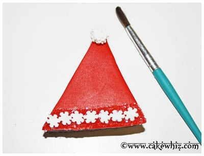 santa hat brownies 13