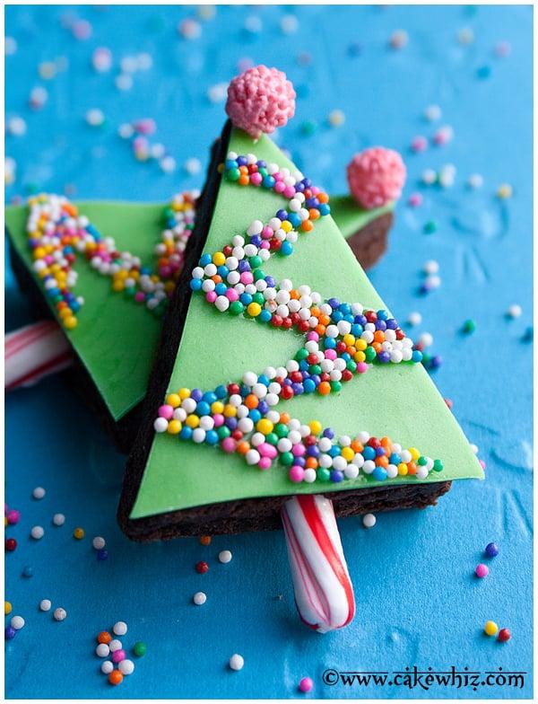 Easy Christmas Brownies Recipe