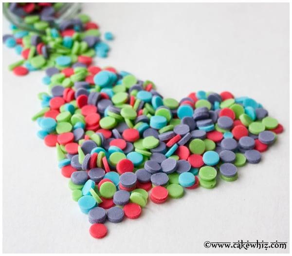 how to make homemade confetti sprinkles 4