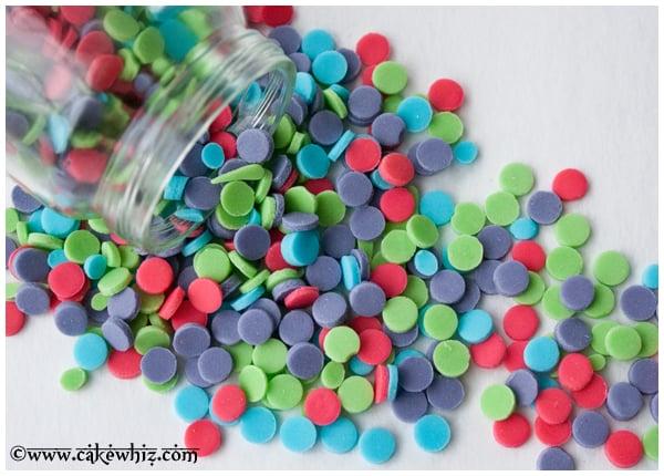 how to make homemade confetti sprinkles 2