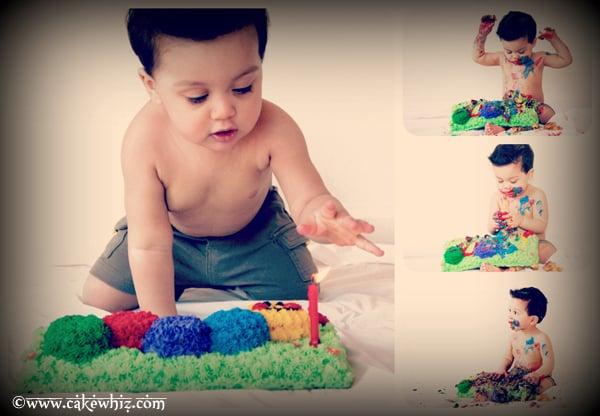 baby einstein caterpillar birthday party 8