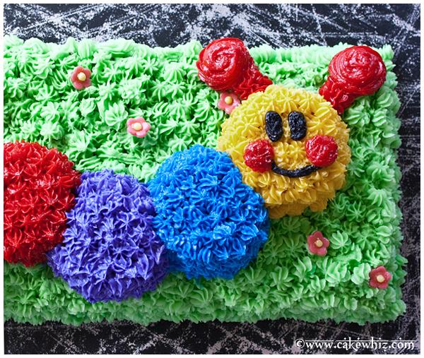 baby einstein caterpillar birthday party 1