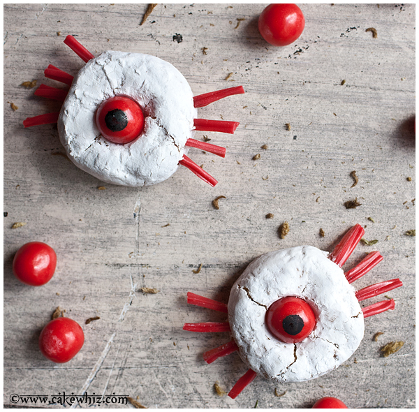 one eyed spider donuts 2