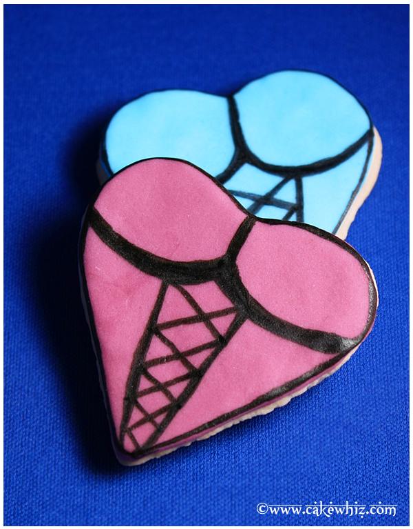 Simple Heart Cookies