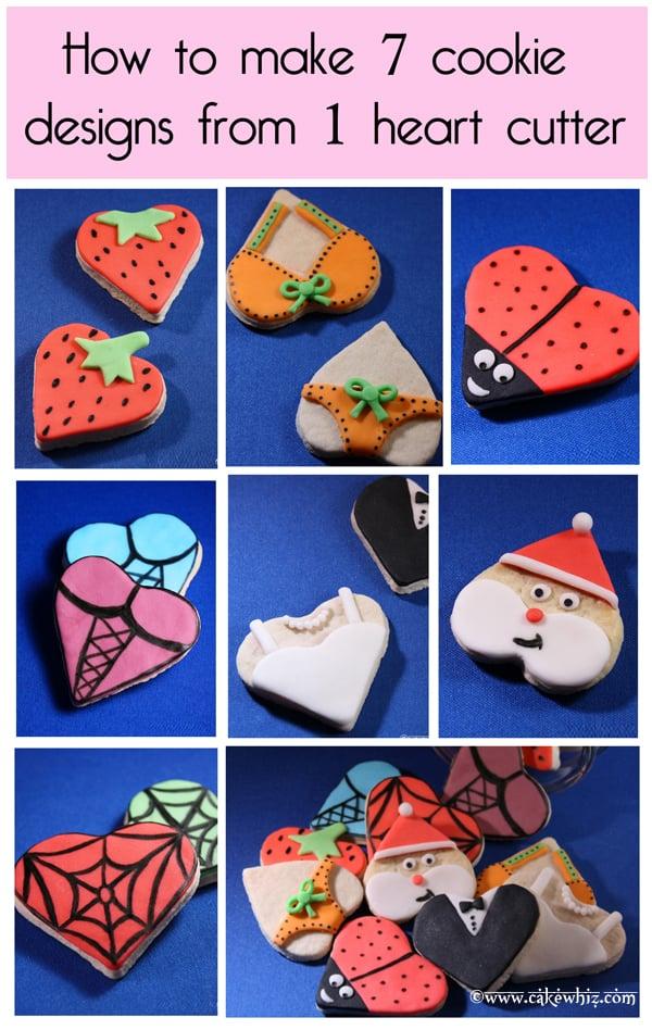 Easy Heart Cookies- Tutorial