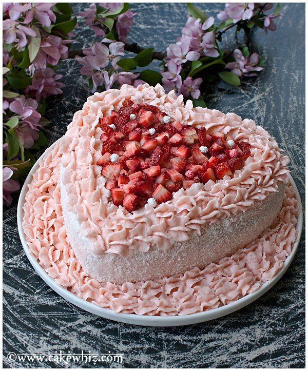 pink velvet cake made from scratch 2