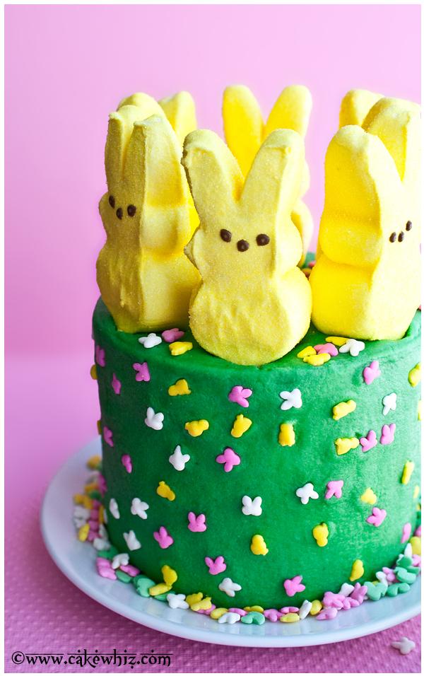 peeps cake 3