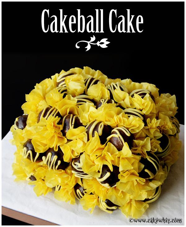 How to Make Cake Ball Cake 1