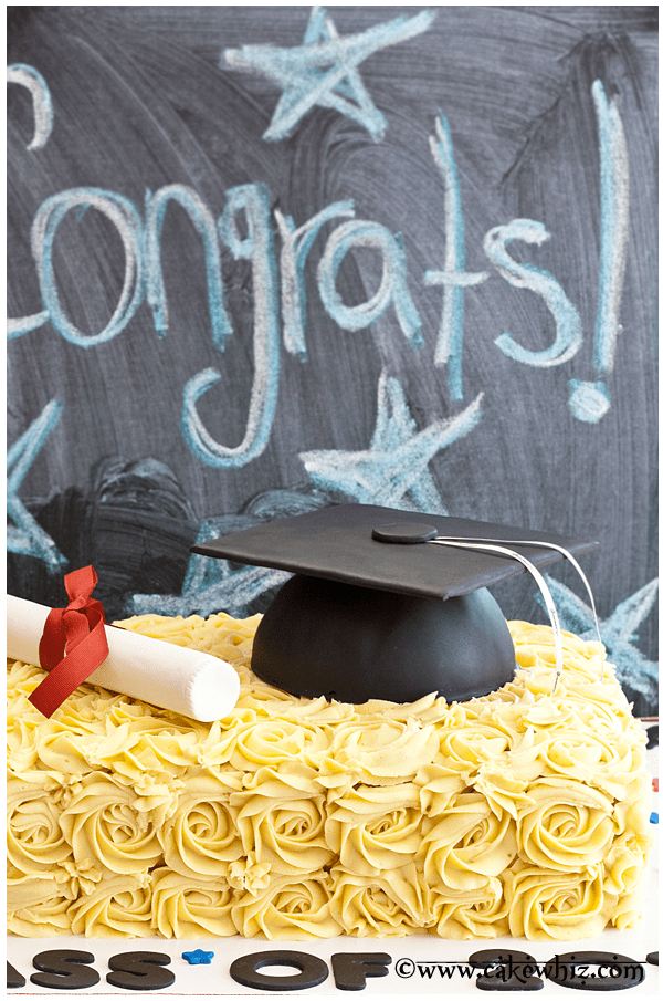 how to make graduation hat cake 4
