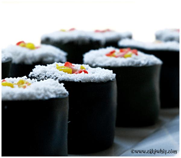 how to make sushi cake 2