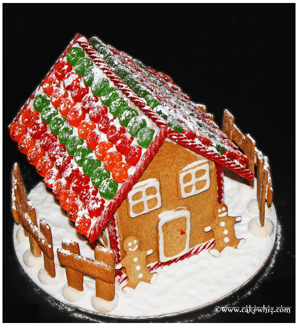 How to Make Gingerbread House 1