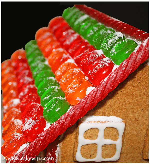 How to Make Gingerbread House 4
