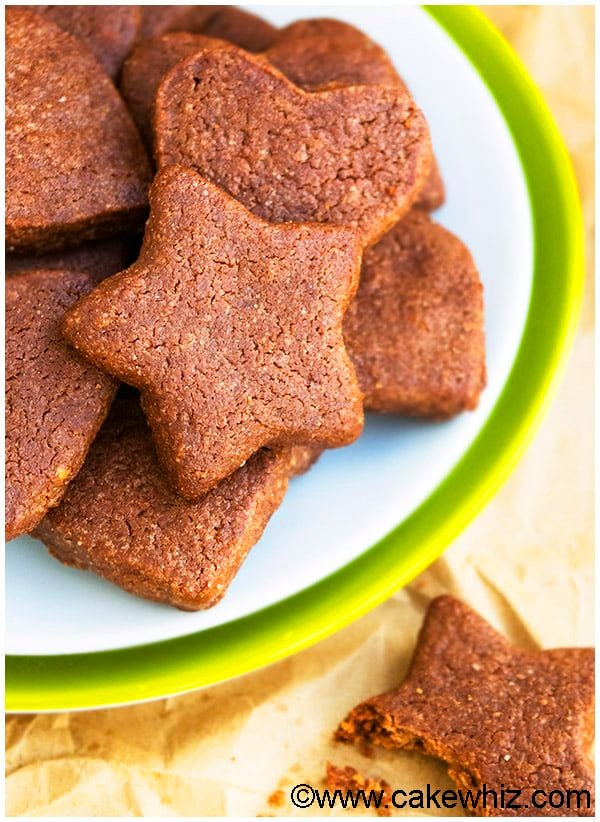 Cut Out Chocolate Sugar Cookies Recipe