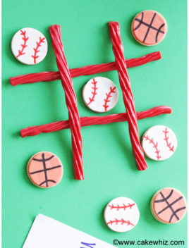 Sports Ball Cookies (Sports Cookies)