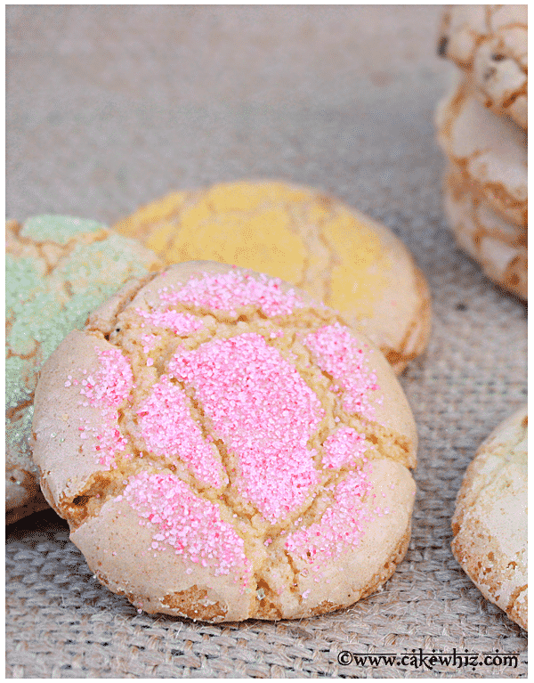 crackly sugar cookies