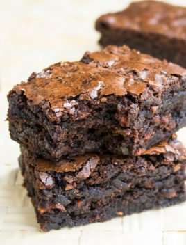 Carrot Brownies with Box Mix