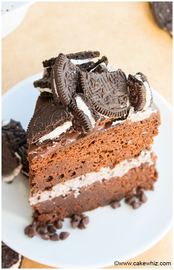 Homemade Oreo Cake