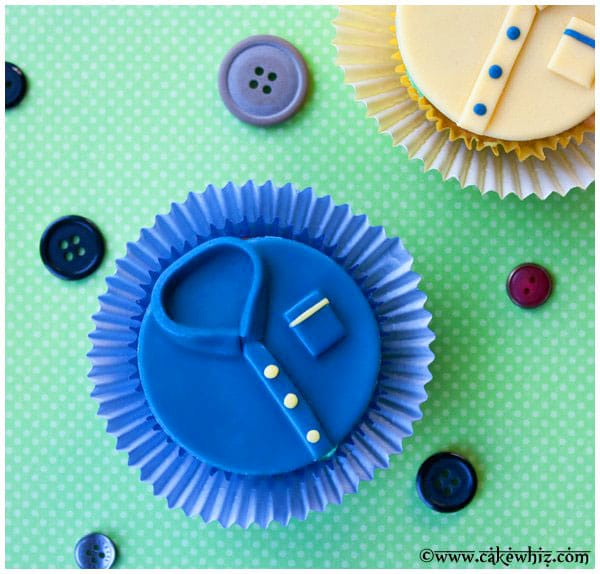 Easy Father's Day Cupcakes
