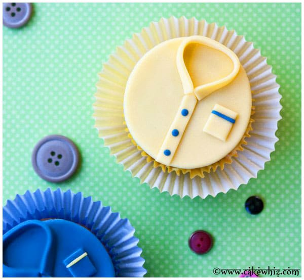 How To Make Shirt Cupcakes