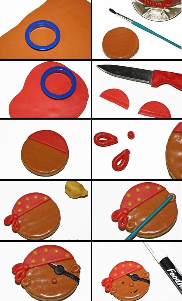How to Make Pirate Cookies-Step by Step Tutorial