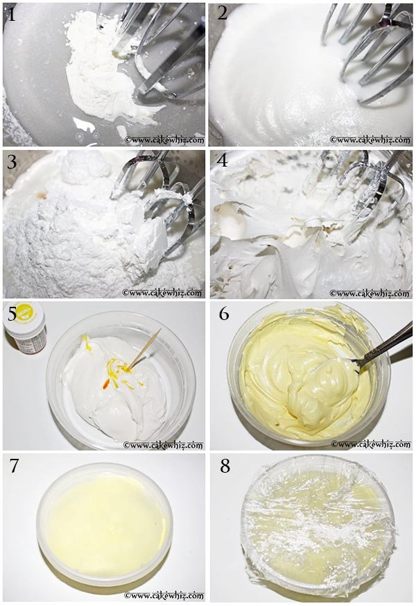 How To Make Royal Icing - Step by Step Instructions