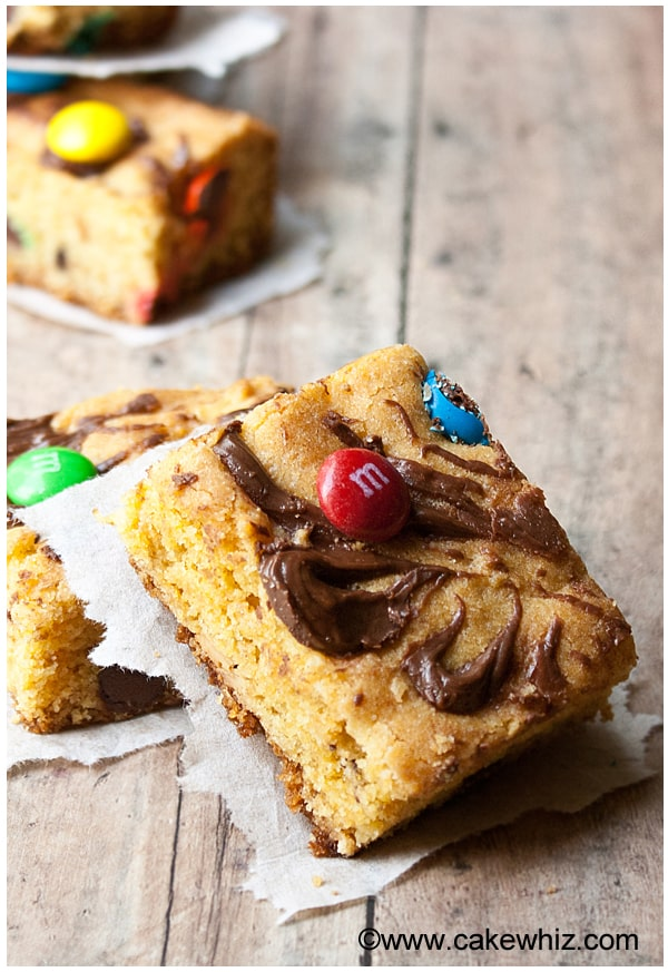 Cookie Bars with Cake Mix Recipe