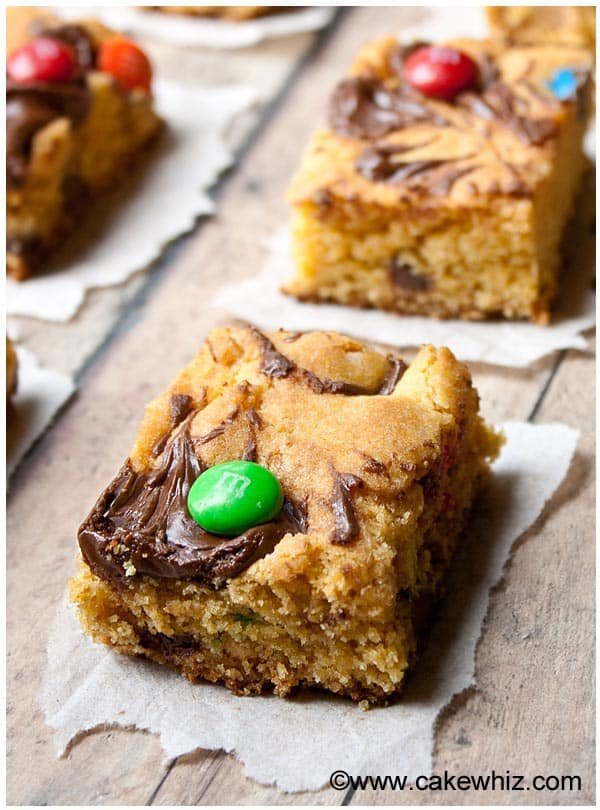 Quick and Easy Cake Mix Cookie Bars Recipe