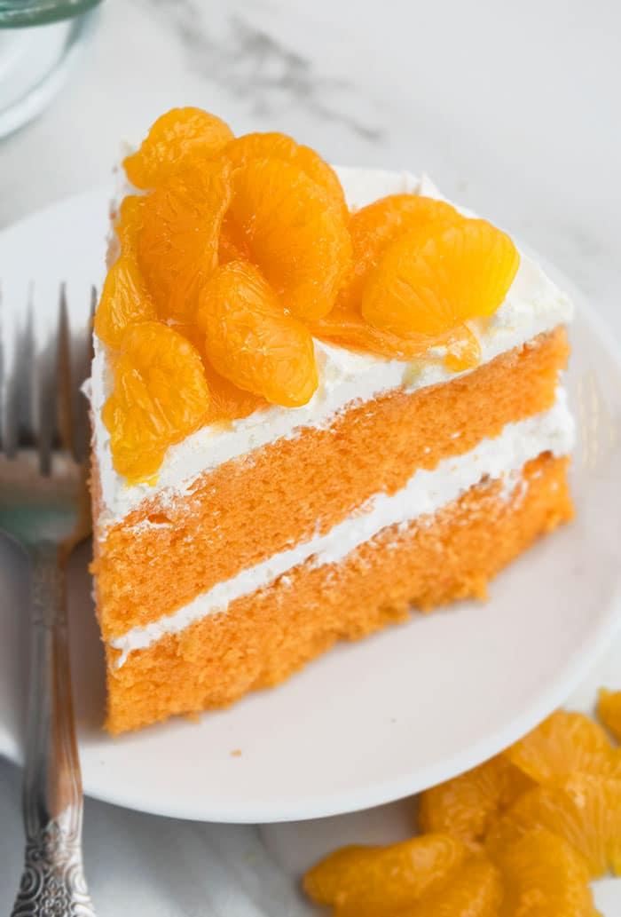 Easy Mandarin Orange Cake Recipe