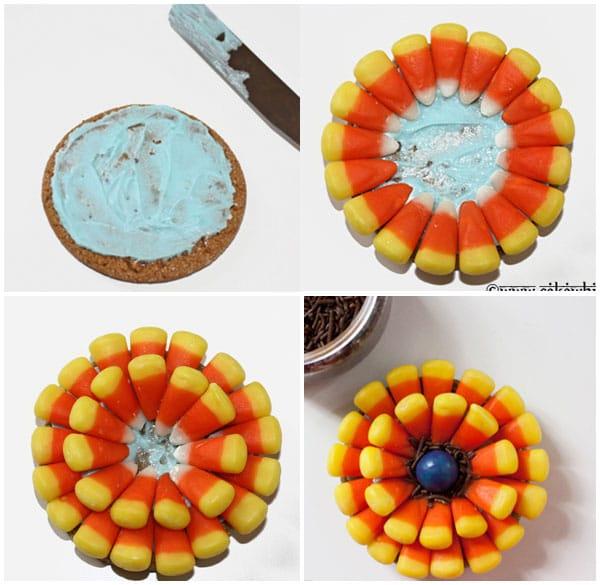 Leftover Halloween Candy Cookies 2