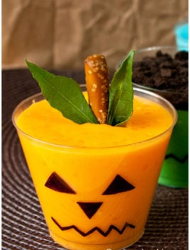 Quick and Easy Halloween Pudding Cups For Kids
