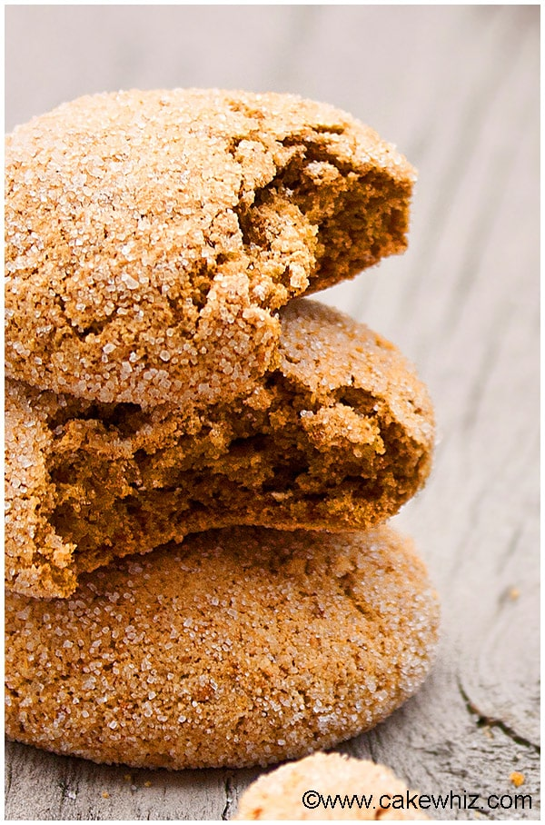 Fat Free Ginger Cookies Recipe 7