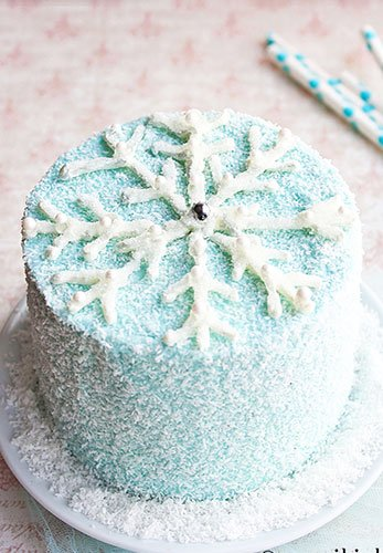 Miraculous Chocolate Snowflake Cake Cakewhiz Funny Birthday Cards Online Fluifree Goldxyz