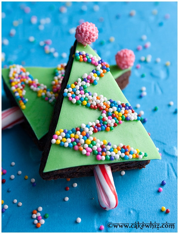 Easy Christmas Brownies Christmas Tree Brownies CakeWhiz