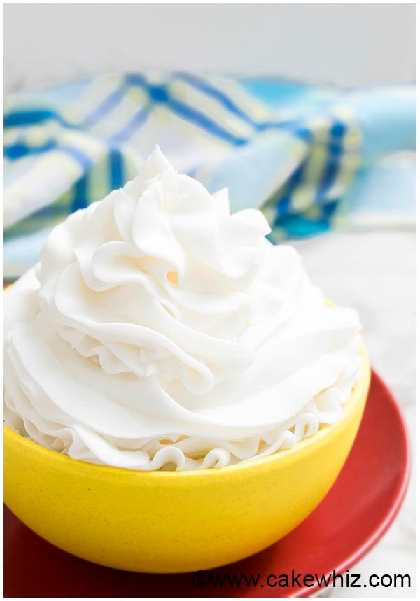Vanilla Buttercream Frosting Recipe